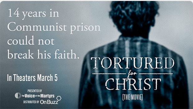 Tortured for Christ movie promo