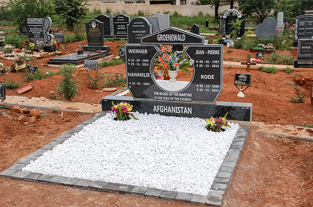 Groenewald memorial
