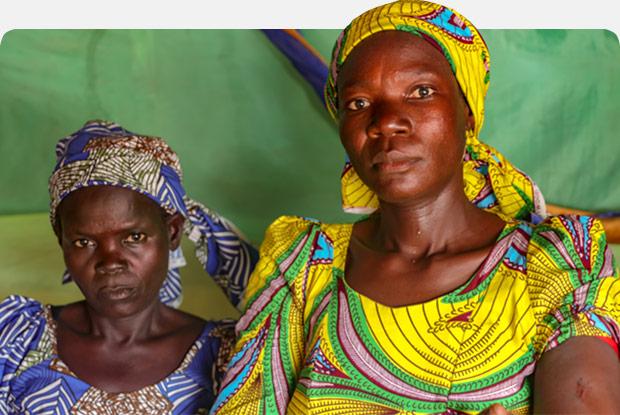 Two Nigerian women