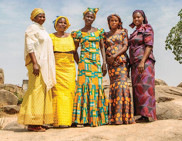 Group of Nigeria women