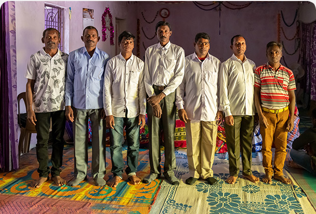 Gornath Chalanseth and six other men