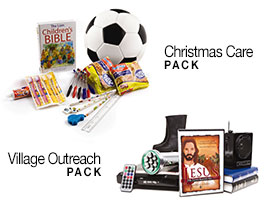 Christmas Care and Village Outreach Packs