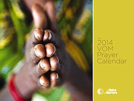 2014 Prayer Calendar
