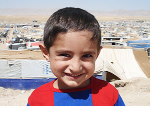 Child in Syria